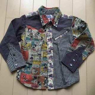ブーフーウー(BOOFOOWOO)のブーフーウー  長袖シャツ  130(ブラウス)