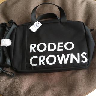 ロデオクラウンズワイドボウル(RODEO CROWNS WIDE BOWL)の新品♡ロデオクラウンズ✩3wayバッグ✩ブラック♡今期完売品♡(ショルダーバッグ)