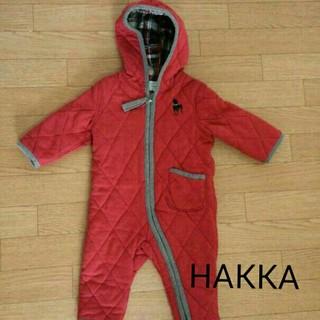 60142e588a0298 ハッカベビー(hakka baby)のハッカベビー♡ ジャンプスーツ Sサイズ(カバーオール