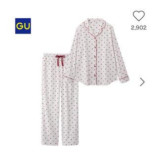 ジーユー(GU)のgu ハート パジャマ(パジャマ)
