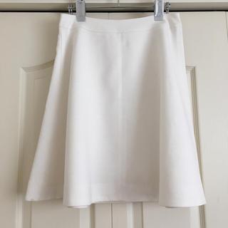 ノーブル(Noble)のNOBLE ホワイトスカート♪(ひざ丈スカート)