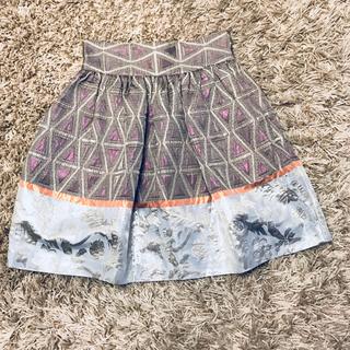 スノ(SUNO)の美品 SUNO スカート 2(ひざ丈スカート)