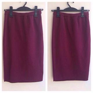 ルシェルブルー(LE CIEL BLEU)のLE CIEL BLEU スカート 美品(ひざ丈スカート)