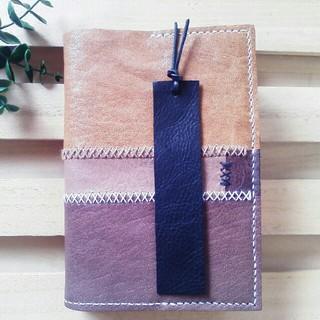 革のしおり Bookmark ブックマーカー ブラック(しおり/ステッカー)