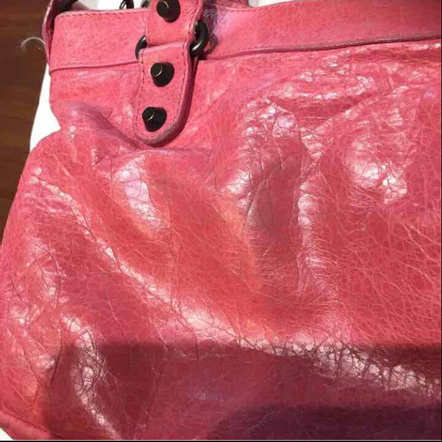 BALENCIAGA BAG(バレンシアガバッグ)のBALENCIAGA バレンシアガ ファースト ピンク 送料込 レディースのバッグ(ハンドバッグ)の商品写真