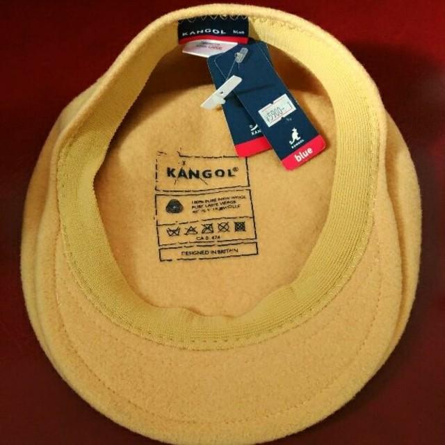 KANGOL(カンゴール)のKANGOL カンゴール イエローハンチング XL メンズの帽子(ハンチング/ベレー帽)の商品写真