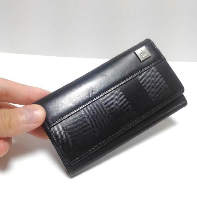 Calvin Klein(カルバンクライン)の値下 カルバン・クライン キーケース 黒 メンズのファッション小物(キーケース)の商品写真