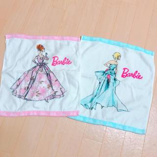 バービー(Barbie)のBarbie♡タオルset(タオル/バス用品)