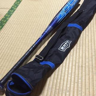 ゼット(ZETT)の軟式野球バット  バットケースつけます(バット)