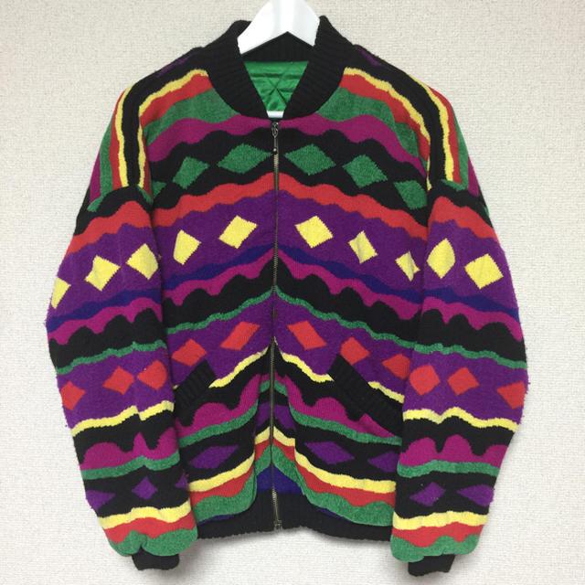 【80's】マルチカラー総柄アウター★ メンズのジャケット/アウター(その他)の商品写真