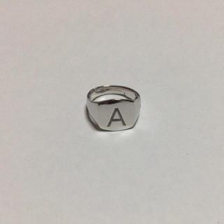 【試着のみ】トムウッド ピンキーリング シルバー アルファベット A(リング(指輪))