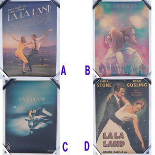 ラ・ラ・ランド 海外限定 デザイン レトロ A4ポスター 1枚 全5種出品中(ポスター)
