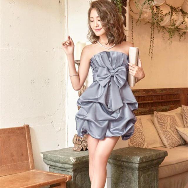 dazzy store(デイジーストア)のバルーン ドレス ワンピ 二次会 レディースのワンピース(ミニワンピース)の商品写真