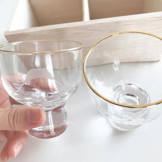 トウヨウササキガラス(東洋佐々木ガラス)の東洋佐々木ガラス 招福杯 江戸切子 冷酒杯揃え125ml ペア(グラス/カップ)