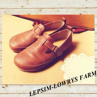 レプシィム(LEPSIM)のLEPSIM♡ベルト付きフラットシューズ(ローファー/革靴)
