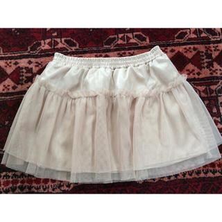 ジーユー(GU)のGU チュールスカート 120cm(スカート)