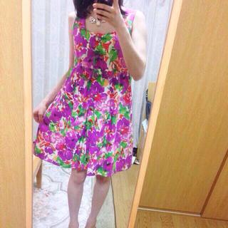 チェスティ(Chesty)の再値下げ♡チェスティ★Aラインワンピース(ミニワンピース)
