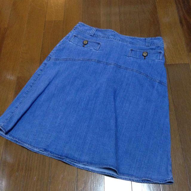 pour la frime(プーラフリーム)の【ayako様専用】デニムスカート レディースのスカート(ひざ丈スカート)の商品写真