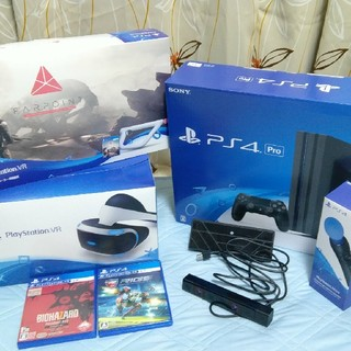 お買い得!PSVR PS4 PRO ゲーム付きフルセット