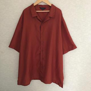 USA古着 半袖シャツ【XXL】ポリシャツ(シャツ)