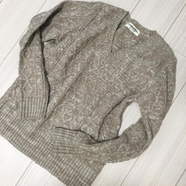 VANQUISH(ヴァンキッシュ)の試着のみ新品✨VANQUISH ニット メンズのトップス(ニット/セーター)の商品写真