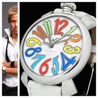 ガガミラノ(GaGa MILANO)の本物 ガガミラノ GAGA MILANOマヌアーレ 40mm 5020.1 白 (腕時計(デジタル))