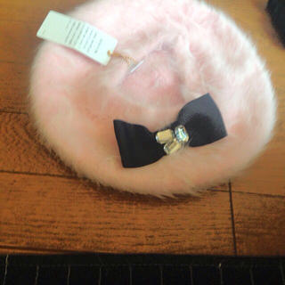 セシルマクビー(CECIL McBEE)の美品CECIL McBEEベレー帽(ハンチング/ベレー帽)