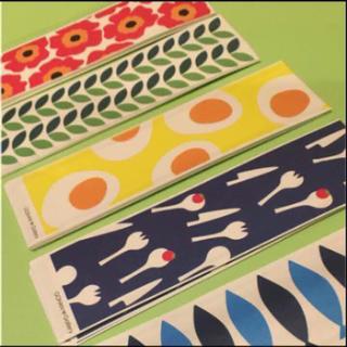 マリメッコ(marimekko)の割り箸袋  北欧柄  10枚×5種類  50枚  マリメッコ アラビア イッタラ(カトラリー/箸)