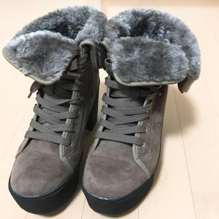 これからの季節に♪【ファーブーツ】(ブーツ)