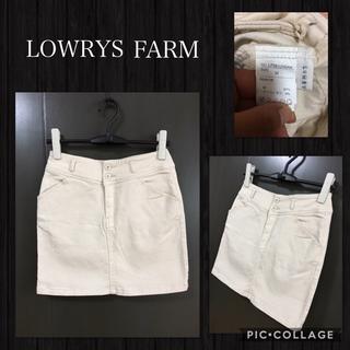 ローリーズファーム(LOWRYS FARM)のセール LOWRYS FARM タイトスカート ストレッチ 価格¥4900 美品(ミニスカート)