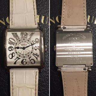 フランクミュラー(FRANCK MULLER)のフランクミュラー マスタースクエア レディース ボーイズ 腕時計 クォーツ 電池(腕時計)