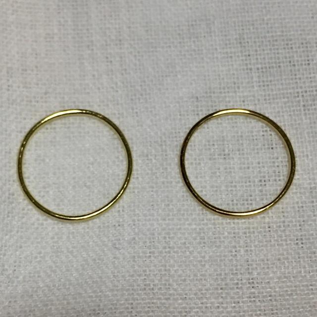 きりん様専用☆ 新品・未使用 OREFICE K18ノア バンドリング 0号 ☆ レディースのアクセサリー(リング(指輪))の商品写真