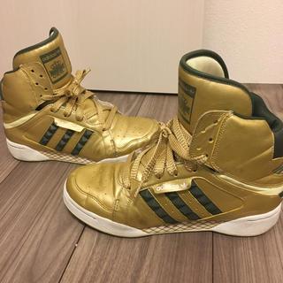 アディダス(adidas)の【値下げ】adidas ハイカット☆リスペクトミー24cm(スニーカー)