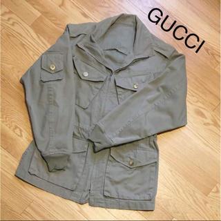 2c3844df74c9 グッチ(Gucci)のGUCCI ミリタリージャケット ミリタリーコート(ミリタリージャケット)