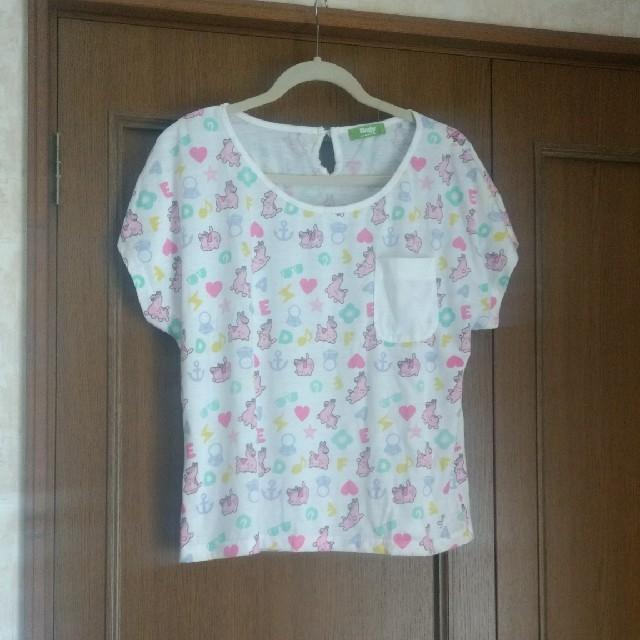 ※masumi-ono様専用※  RODY柄Tシャツ Mサイズ レディースのトップス(Tシャツ(長袖/七分))の商品写真