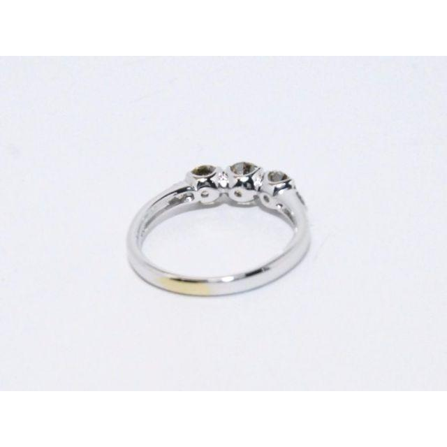 K18WG■総1.113ctダイヤモンドリング11号【マルヨ質店】 レディースのアクセサリー(リング(指輪))の商品写真