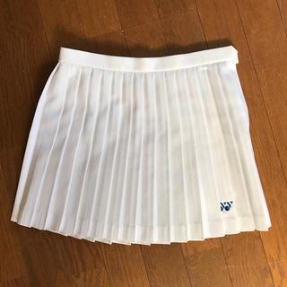 ヨネックス(YONEX)のテニス スコート ホワイト ヨネックス 美品(ウェア)