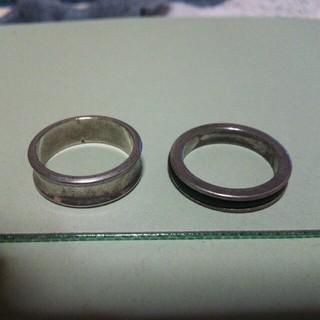 リング2点セット(ノーブランド) サイズ:19(リング(指輪))