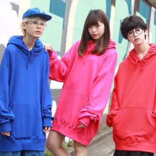 【12カラー】ゆめかわいい♡ビッグパーカー(パーカー)
