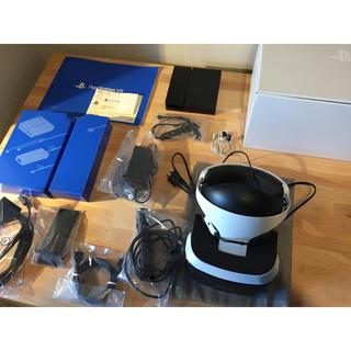 プレイステーションヴィーアール(PlayStation VR)のPSVR カメラ同梱版 ソフトPSVRWORLDS付き 即日発送(家庭用ゲーム機本体)