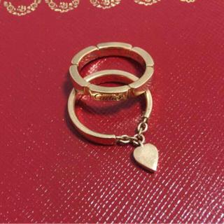 カルティエ(Cartier)の最終値下げ 正規品 カルティエ ピンクゴールド PG 18金 リング 指輪(リング(指輪))