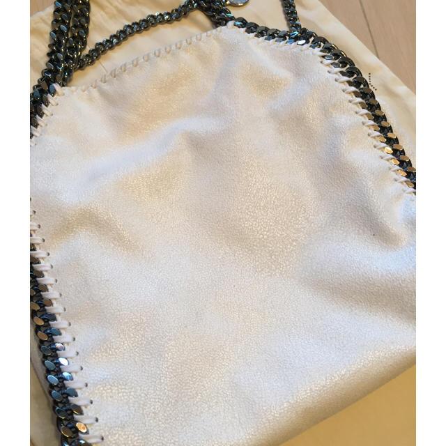 Stella McCartney(ステラマッカートニー)のStellaMcCartney  FALABELLAミニ 15ss ホワイト  レディースのバッグ(ショルダーバッグ)の商品写真