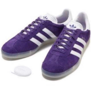 adidas スニーカー 紫