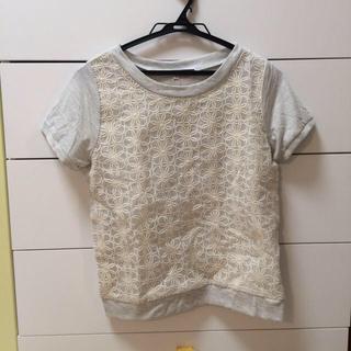 ジエンポリアム(THE EMPORIUM)の花柄レースシャツ(Tシャツ(半袖/袖なし))