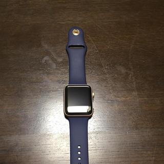 アップル(Apple)のApple Watch Series 2  ゴールド 42mm 即日発送します。(腕時計(デジタル))