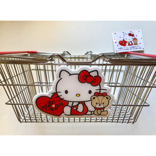 ハローキティ(ハローキティ)の【新品】Hello Kitty ワイヤーバスケット(バスケット/かご)