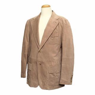 グッチ(Gucci)のグッチ メンズ ジャケット レザー スエード ピッグスキン 100228(テーラードジャケット)