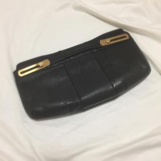 サンタモニカ(Santa Monica)のvintage hand leather bag(クラッチバッグ)