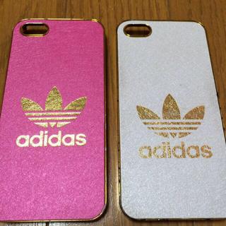 アディダス(adidas)のadidas iPhoneケース ピンク(その他)