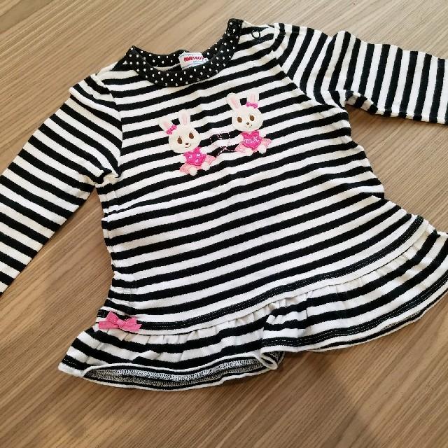 mikihouse(ミキハウス)のミキハウス 可愛い キッズ/ベビー/マタニティのベビー服(~85cm)(シャツ/カットソー)の商品写真